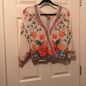 Flying Tomato Floral Blouse